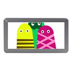 Three mosters Memory Card Reader (Mini)