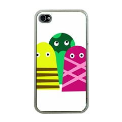 Three mosters Apple iPhone 4 Case (Clear)