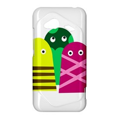 Three mosters HTC Droid Incredible 4G LTE Hardshell Case