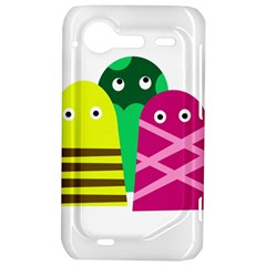 Three mosters HTC Incredible S Hardshell Case