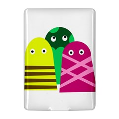Three mosters Kindle 4