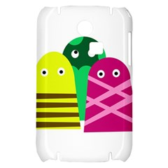 Three mosters Samsung S3350 Hardshell Case