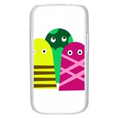 Three mosters Samsung Galaxy S III Case (White)