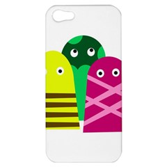 Three mosters Apple iPhone 5 Hardshell Case