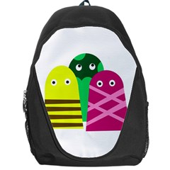 Three mosters Backpack Bag