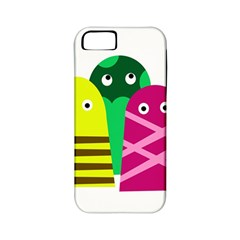 Three mosters Apple iPhone 5 Classic Hardshell Case (PC+Silicone)