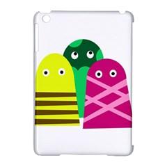 Three mosters Apple iPad Mini Hardshell Case (Compatible with Smart Cover)