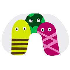Three mosters Travel Neck Pillows