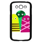 Three mosters Samsung Galaxy Grand DUOS I9082 Case (Black) Front