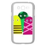 Three mosters Samsung Galaxy Grand DUOS I9082 Case (White) Front