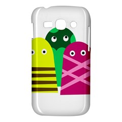 Three mosters Samsung Galaxy Ace 3 S7272 Hardshell Case