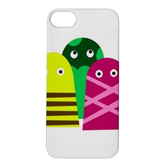 Three mosters Apple iPhone 5S/ SE Hardshell Case