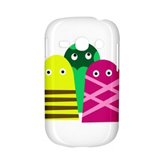 Three mosters Samsung Galaxy S6810 Hardshell Case