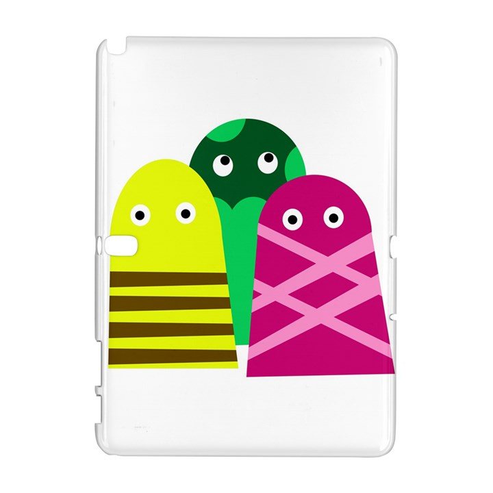 Three mosters Samsung Galaxy Note 10.1 (P600) Hardshell Case