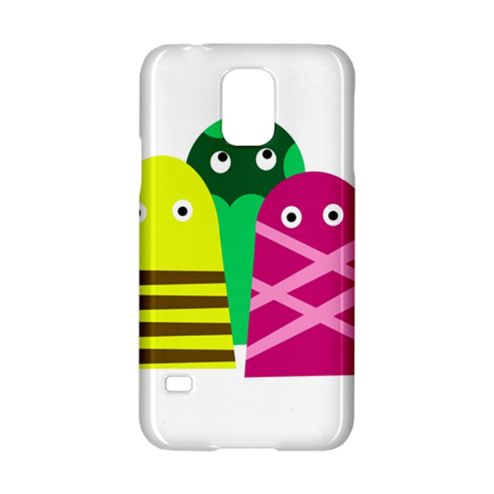 Three mosters Samsung Galaxy S5 Hardshell Case