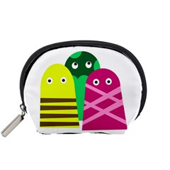 Three mosters Accessory Pouches (Small)