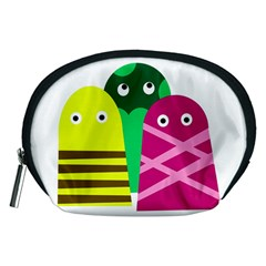 Three mosters Accessory Pouches (Medium)