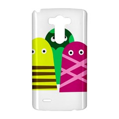 Three mosters LG G3 Hardshell Case