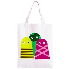 Three mosters Classic Light Tote Bag