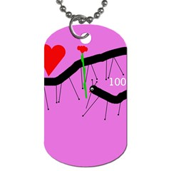 Centipedes Dog Tag (Two Sides)