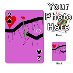 Centipedes Playing Cards 54 Designs