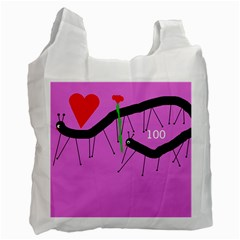 Centipedes Recycle Bag (One Side)