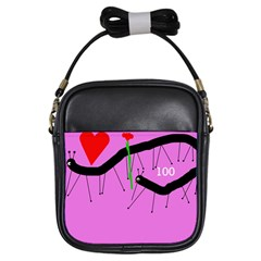 Centipedes Girls Sling Bags