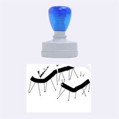 Centipedes Rubber Oval Stamps