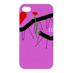 Centipedes Apple iPhone 4/4S Premium Hardshell Case