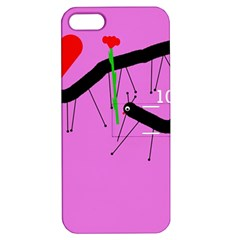 Centipedes Apple iPhone 5 Hardshell Case with Stand
