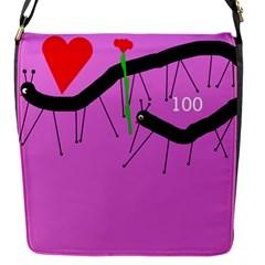 Centipedes Flap Messenger Bag (S)