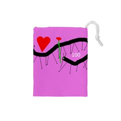 Centipedes Drawstring Pouches (Small)