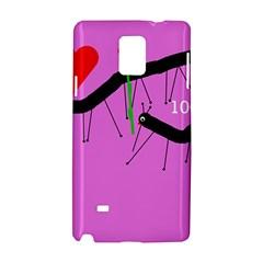 Centipedes Samsung Galaxy Note 4 Hardshell Case