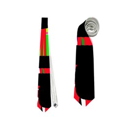 Colorful abstraction Neckties (One Side)