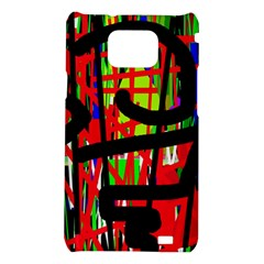 Colorful abstraction Samsung Galaxy S2 i9100 Hardshell Case
