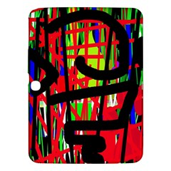 Colorful abstraction Samsung Galaxy Tab 3 (10.1 ) P5200 Hardshell Case