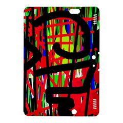 Colorful abstraction Kindle Fire HDX 8.9  Hardshell Case