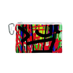 Colorful abstraction Canvas Cosmetic Bag (S)