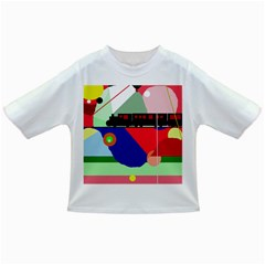 Abstract train Infant/Toddler T-Shirts