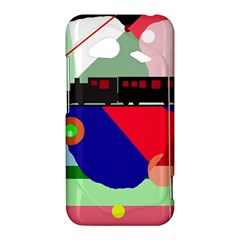 Abstract train HTC Droid Incredible 4G LTE Hardshell Case