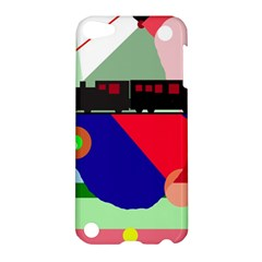 Abstract train Apple iPod Touch 5 Hardshell Case