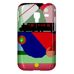 Abstract train Samsung Galaxy Ace Plus S7500 Hardshell Case