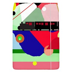 Abstract train Flap Covers (S)