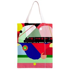 Abstract train Classic Light Tote Bag