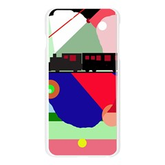 Abstract train Apple Seamless iPhone 6 Plus/6S Plus Case (Transparent)
