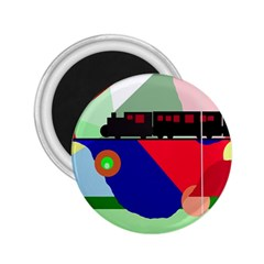 Abstract train 2.25  Magnets