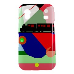 Abstract train Samsung Galaxy Ace S5830 Hardshell Case
