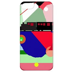 Abstract train Apple iPhone 5 Classic Hardshell Case