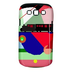 Abstract train Samsung Galaxy S III Classic Hardshell Case (PC+Silicone)