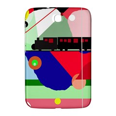 Abstract train Samsung Galaxy Note 8.0 N5100 Hardshell Case